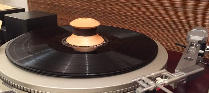 「ハーモニックレコードスタビライザーAM-ST1」発売開始!